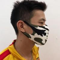 Masker kain scuba army anti debu