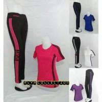 Setelan aerobik/Setelan baju senam wanita