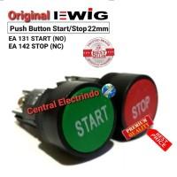 Push Button Tombol EWIG XB2 Start/Stop. - Hijau Tosca