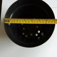 POT Bunga | POT 20 HITAM | POT PLASTIK | Pot 20 cm | Pot plastik hitam
