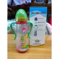 Dodo Peanut Bottle With Handle 250 ml - Botol Susu Anak