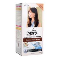 LIESE Prettia Bubble Foam Hair Colour (Varian Colour) - Chesnut Brown