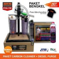 Paket Tune Up Bengkel Mobil - Carbon Cleaner dan Diesel Purge - BUNDLE