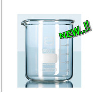 BEAKER GLASS 2000mL. D132XH185mm. SUPER DUTY. Gelas Kimi. DURAN