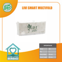 Tissue LIVI SMART TOWEL Multifold 150's