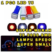 T5 LAMPU LED SPEEDOMETER SUPER BRIGHT LAMPU LED PANEL DASHBOARD