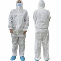 Baju Pelindung Isolasi Coverall Putih