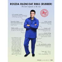Jas Hujan ROSIDA Karet R883 Full Rubber, Full Press, Anti Rembes
