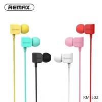 Remax RM-502 Earphone ( Call + Audio ) Original