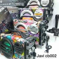 SPEAKER JAVI CB002 PLUS MIC ORIGINAL