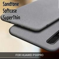 Sandstone Case Huawei P30 Pro doft TPU Softcase