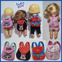 Tas Ransel Boneka Baby Alive LOL Surprise Minnie Mouse