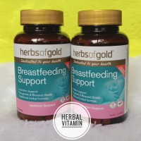 Herbs Of Gold Breastfeeding Support 60 Tablet Double Strength (ASI 2X)