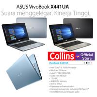 LAPTOP ASUS X441UA-GA311T/312T - I3-7020U 4GB 1TB DVD 14 W10