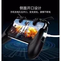 GAMEPAD RK 8 ORIGINAL FAST fire shooter L1R1 game console FF PUBG CODM - Gamepad