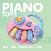 IQ ANGEL Baby Piano Mainan Piano Bayi Musik Lampu Baby Toys