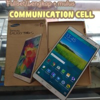 Samsung Tab S Putih ( Second) Fullset/Lengkap