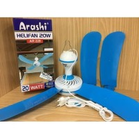 Kipas angin plafon helifan Arashi 20watt