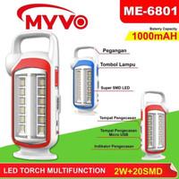 Lampu Emergency Myvo 6801