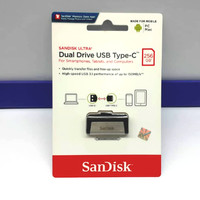 OTG USB Type C SanDisk 256GB Original Garansi Resmi 5 Tahun