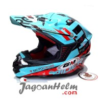 Gm Helm Super Cross Rider X Light Tosca Red Motocross Trail Ready St