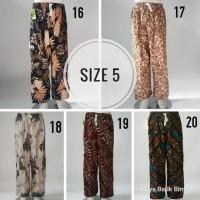 Promo Celana Panjang Batik Boim Betawi Anak 10 11 Tahun Best Seller