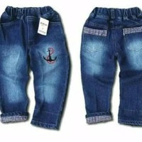 Promo Celana Jeans Anak Laki Stik Balik Size 7 Tahun 8 Tahun 9 Tahun -
