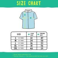 Best Seller Moosca Kids Louis Shirt| Kemeja Anak Lengan Pendek | Merah