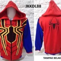 Promo Jaket Anak Cowok Spiderman Infinity War - Jkkdl88 - Ukuran M, L,
