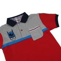 Promo Kids Icon - Polo Shirt Anak Laki Batman With Placket -