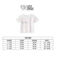 Promo Kaos Anak - Anak | L067 Baby Zebra Tee By Little Jergio - Extra