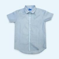 Promo Moosca Kidswear Ray Linen Shirt | Kemeja Anak Lengan Pendek |