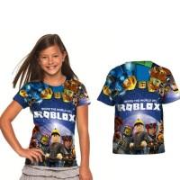 Best Seller Roblox Baju Tshirt Anak Cowok Termurah
