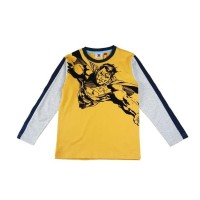 Promo Kids Icon - Kaos Anak Laki Lengan Panjang Superman- Sm301800190