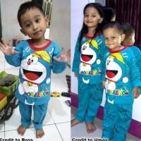 Best Seller Piyama Anak Doraemon Lucu Baju Tidur Setelan Bayi Lembut