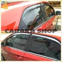 Talang Air Slim BRIO Side Visor Black Sidevisor Hitam Honda Brio