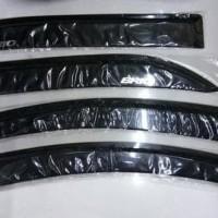 Talang air Honda Brio / side visor mobil Brio model slim berkualitas