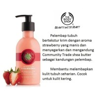 ASLI The Body Shop Strawberry Body Puree Butter
