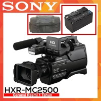 Sony HXR-MC2500 Professional Camcorder Garansi Resmi - Tas - Battery