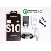 TERBATAS CHARGER ORIGINAL SAMSUNG S10+ USB TYPE-C FAST CHARGING