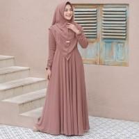 Mayra Syari Fashion Muslim Terbaru Gamis Syarii Set Khimar Termurah