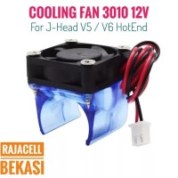 3D Printer Sparepart : Kipas Fan Blower untuk J-Head V5 V6 HotEnd - V5