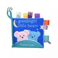 Tear Cloth Books Early Education Pl Sensory Label Soft Stereo Animal R