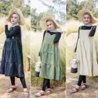 Keany Tunik Fashion Muslim Terbaru Baju Atasan Wanita Termurah