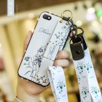 Casing Soft Case Desain Berlian Gaya Retro untuk Xiaomi Redmi 6A Mi 8