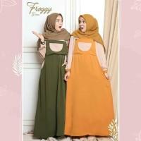 Froggy Dress Maxi Gamis Remaja Baju Gamis Modern Best Seller