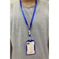 Name Tag Holder Id Card Mika Tali Lanyard panitia