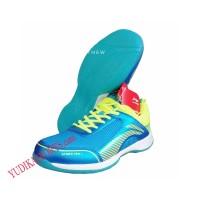 Sepatu Badminton Lining Attack Pro 2 Blue Lime