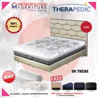 Springbed Therapedic Dr. Thera 160 x 200 FULL SET Kasur Orthopedic