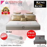 Springbed King Koil Duke 160 x 200 FULL SET Kasur Spring bed matras